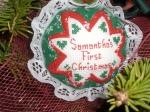 Cross Stitching Ornament