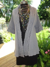 Summer Cardigan With Gorgeous Front Band
