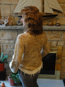 Erika Cardigan Back view