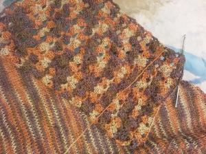 Crochet Sample And Knit Sample