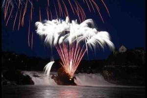 Rheinfall - Nationalfeiertag 2013