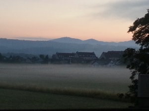 Moehlin with morning Fog