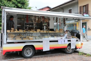 this is the camper bus that sold the dried meet and local cheese....so cool