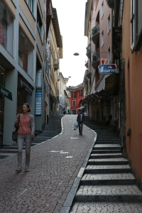 If you take the Tram you would never see this hill.. So cool lots of stairs of steep walk way ...you have to do it once!