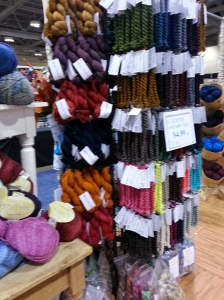 MadTosh Dk stand with the newest from MadTosh. Unicorn Tails