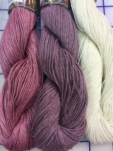 Have a look at all the other colour combos one could knit this shawl up too...