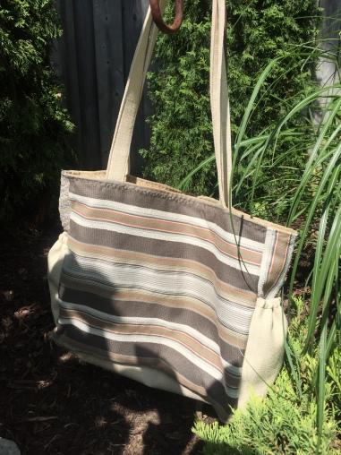 Back side of same bag
