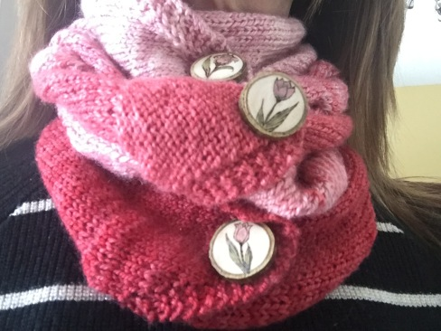 Celebration Tulip Cowl