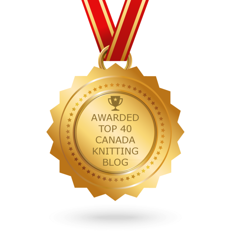 Awarded to be one of the 40 Best Knitting sights in Canada
