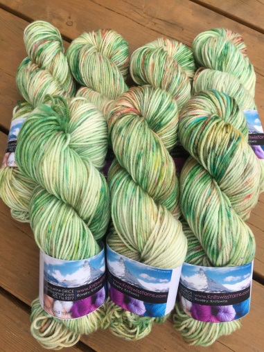 """""""Clover"""" is a limited edition for specially dyed for this coming 2018 St. Patrick's Day. Only available for a short time"""
