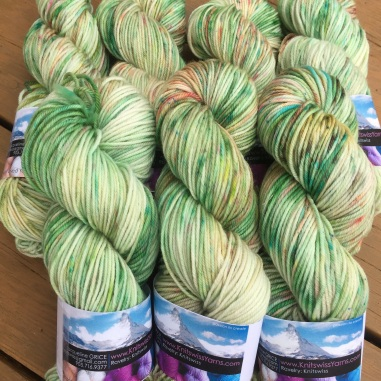 """Clover"" is a limited edition for specially dyed for this coming 2018 St. Patrick's Day. Only available for a short time"